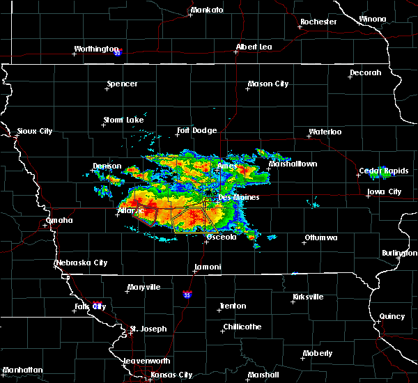 Radar Image for Severe Thunderstorms near East Peru, IA at 6/24/2015 8:26 PM CDT