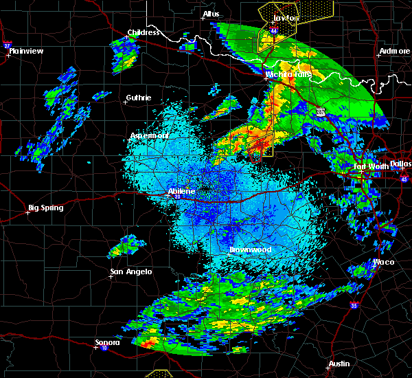 Radar Image for Severe Thunderstorms near Bryson, TX at 3/19/2020 3:20 AM CDT
