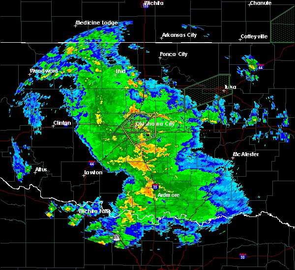Radar Image for Severe Thunderstorms near Forest Park, OK at 3/19/2020 4:15 AM CDT