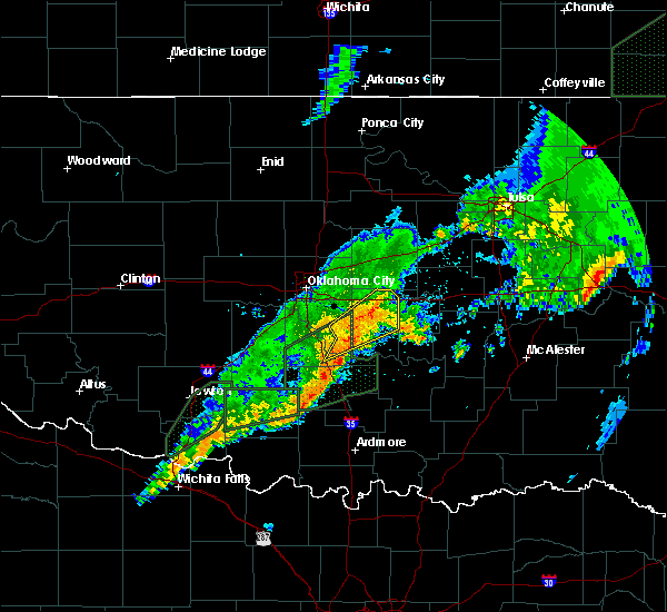 Radar Image for Severe Thunderstorms near Etowah, OK at 3/19/2020 9:38 AM CDT
