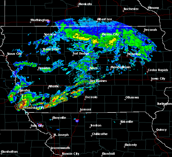 Radar Image for Severe Thunderstorms near Creston, IA at 3/19/2020 5:03 PM CDT