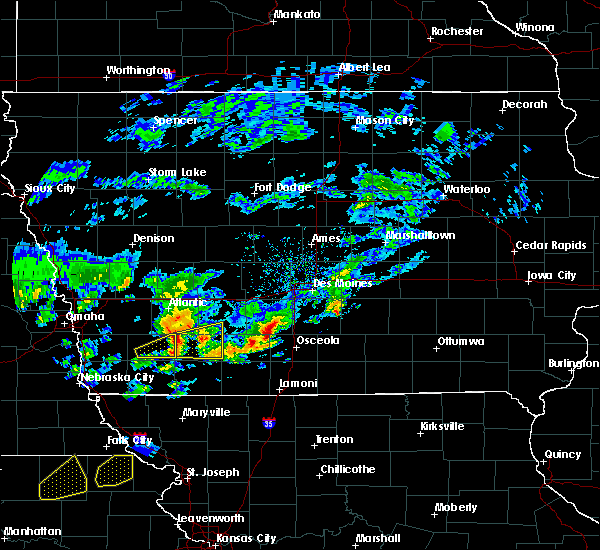 Radar Image for Severe Thunderstorms near Corning, IA at 3/19/2020 6:24 PM CDT