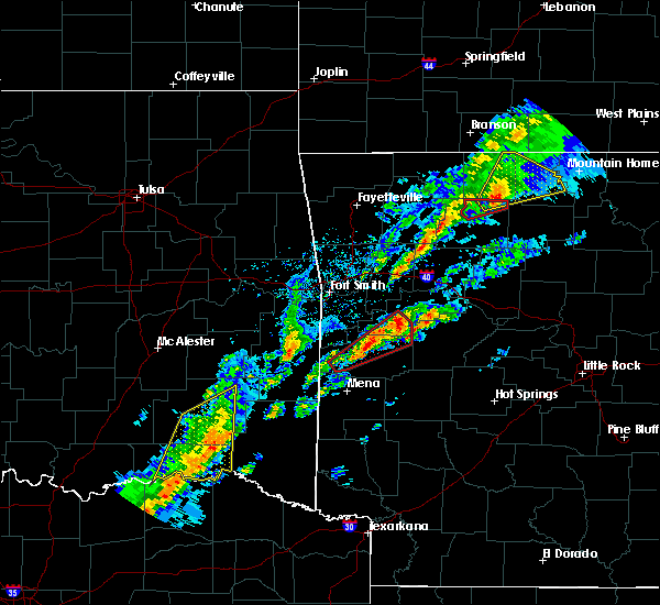 Radar Image for Severe Thunderstorms near Sawyer, OK at 3/19/2020 6:50 PM CDT