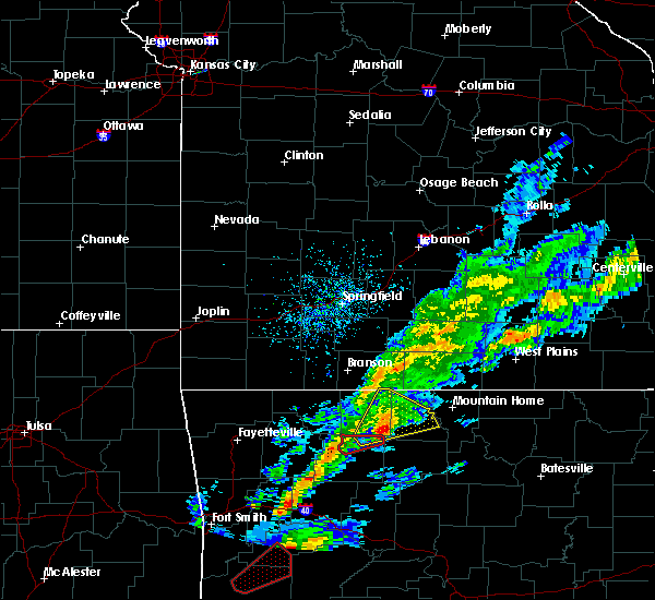 Radar Image for Severe Thunderstorms near Western Grove, AR at 3/19/2020 6:57 PM CDT