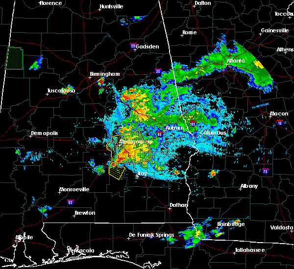 Radar Image for Severe Thunderstorms near Coosada, AL at 6/24/2015 9:05 PM CDT