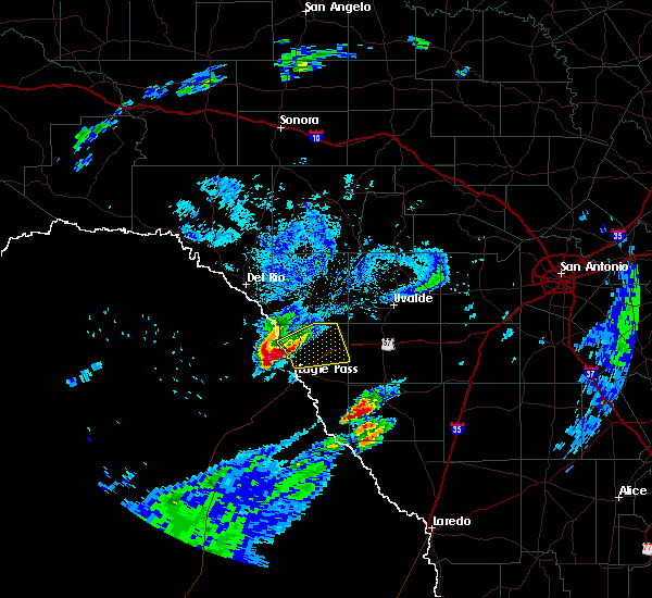 Radar Image for Severe Thunderstorms near Siesta Acres, TX at 3/19/2020 7:50 PM CDT