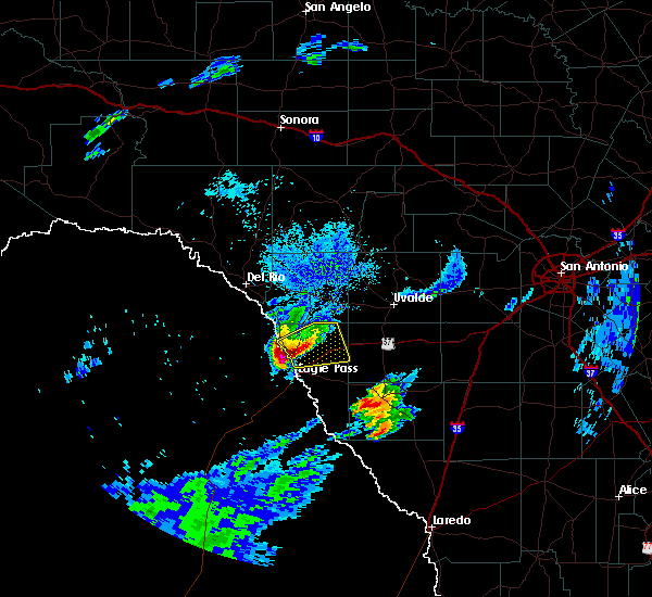 Radar Image for Severe Thunderstorms near Siesta Acres, TX at 3/19/2020 8:02 PM CDT