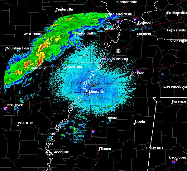 Radar Image for Severe Thunderstorms near College City, AR at 3/19/2020 10:29 PM CDT