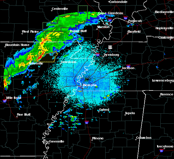 Radar Image for Severe Thunderstorms near College City, AR at 3/19/2020 10:39 PM CDT