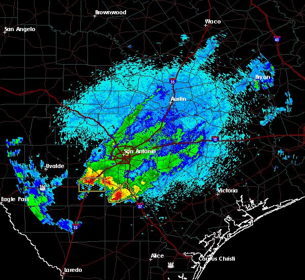 Radar Image for Severe Thunderstorms near Christine, TX at 3/19/2020 10:44 PM CDT