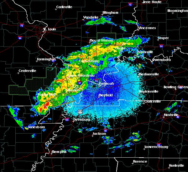 Radar Image for Severe Thunderstorms near Clarkton, MO at 3/20/2020 12:19 AM CDT
