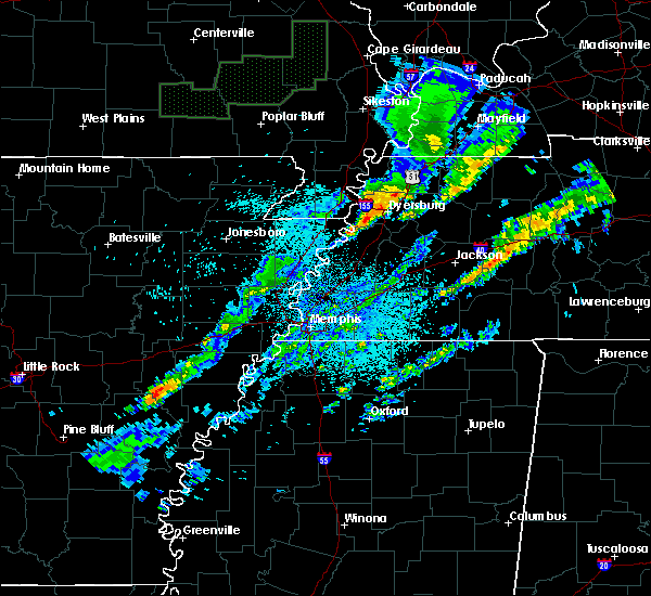 Radar Image for Severe Thunderstorms near Troy, TN at 3/20/2020 2:03 AM CDT