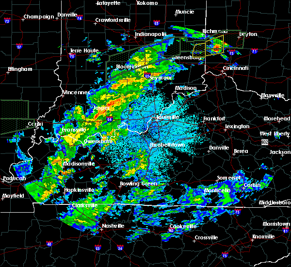 Radar Image for Severe Thunderstorms near Dubois, IN at 3/20/2020 3:35 AM EDT