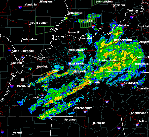 Radar Image for Severe Thunderstorms near Murray, KY at 3/20/2020 4:04 AM CDT