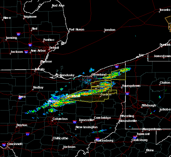 Radar Image for Severe Thunderstorms near Middlefield, OH at 3/20/2020 12:22 PM EDT