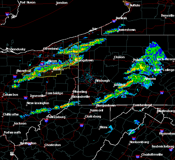 Radar Image for Severe Thunderstorms near Austintown, OH at 3/20/2020 12:52 PM EDT