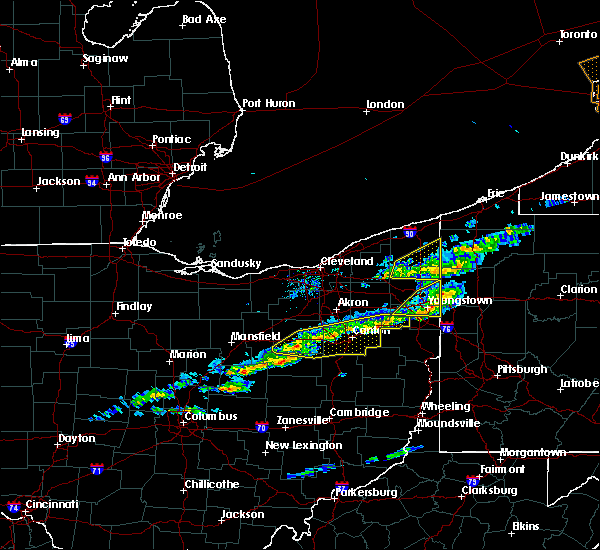 Radar Image for Severe Thunderstorms near Limaville, OH at 3/20/2020 12:54 PM EDT