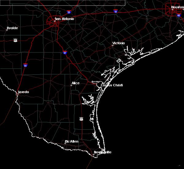 Radar Image for Severe Thunderstorms near Tivoli, TX at 3/20/2020 12:40 PM CDT