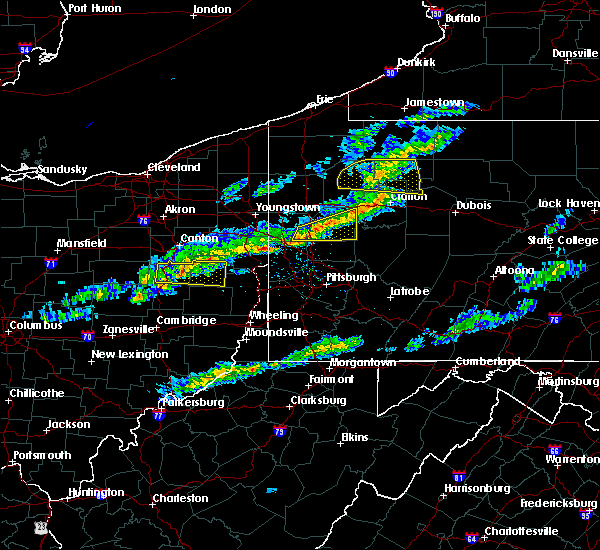 Radar Image for Severe Thunderstorms near Fairview, PA at 3/20/2020 1:45 PM EDT