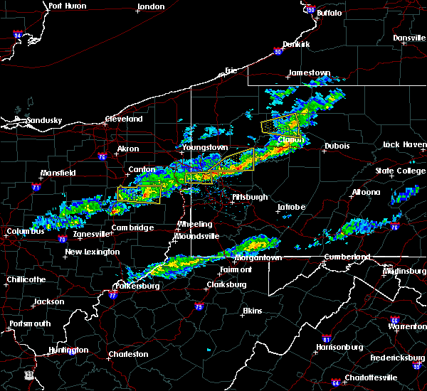 Radar Image for Severe Thunderstorms near East Palestine, OH at 3/20/2020 2:08 PM EDT