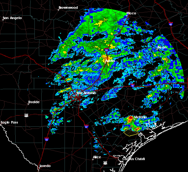 Radar Image for Severe Thunderstorms near Victoria, TX at 3/20/2020 1:14 PM CDT