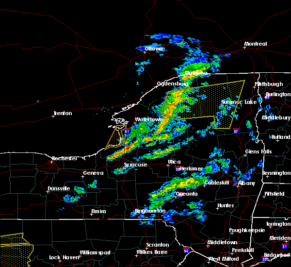 Radar Image for Severe Thunderstorms near Baldwinsville, NY at 3/20/2020 2:32 PM EDT