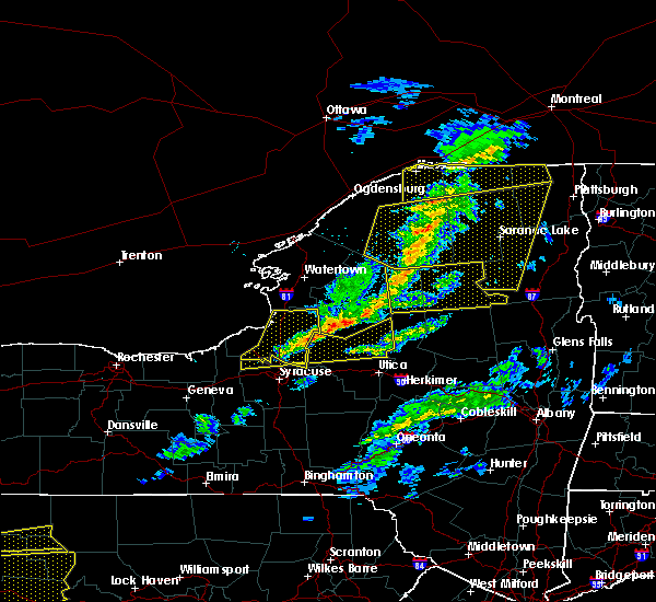 Radar Image for Severe Thunderstorms near Cold Brook, NY at 3/20/2020 2:46 PM EDT