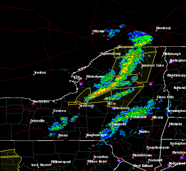 Radar Image for Severe Thunderstorms near Baldwinsville, NY at 3/20/2020 2:53 PM EDT