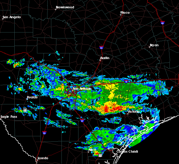 Radar Image for Severe Thunderstorms near Victoria, TX at 3/21/2020 1:27 PM CDT