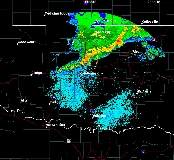 Radar Image for Severe Thunderstorms near Carney, OK at 3/24/2020 5:02 AM CDT
