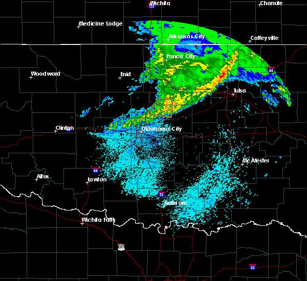 Radar Image for Severe Thunderstorms near Carney, OK at 3/24/2020 5:26 AM CDT