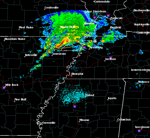 Radar Image for Severe Thunderstorms near Senath, MO at 3/24/2020 11:14 AM CDT