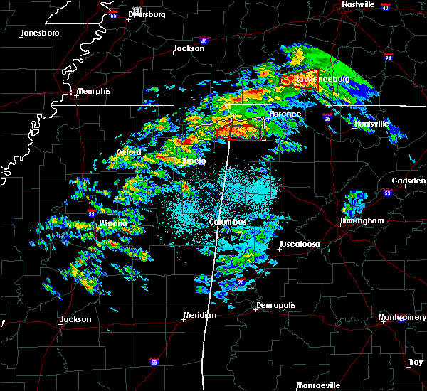 Radar Image for Severe Thunderstorms near Cherokee, AL at 3/24/2020 5:37 PM CDT