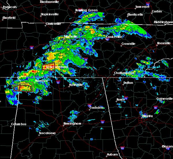Radar Image for Severe Thunderstorms near Lawrenceburg, TN at 3/24/2020 5:41 PM CDT