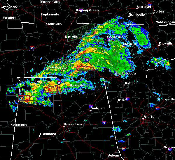 Radar Image for Severe Thunderstorms near Tullahoma, TN at 3/24/2020 6:48 PM CDT