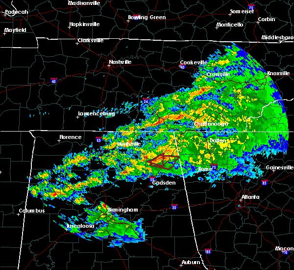 Radar Image for Severe Thunderstorms near Pine Ridge, AL at 3/24/2020 8:35 PM CDT