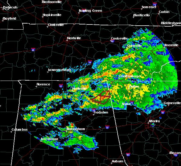 Radar Image for Severe Thunderstorms near Pine Ridge, AL at 3/24/2020 8:52 PM CDT
