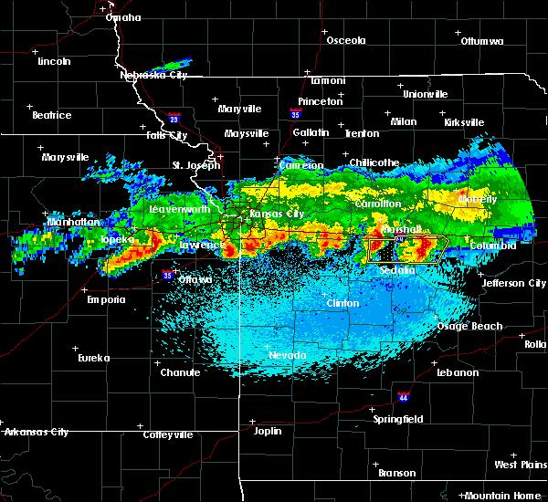 Radar Image for Severe Thunderstorms near Baldwin City, KS at 3/27/2020 12:46 AM CDT