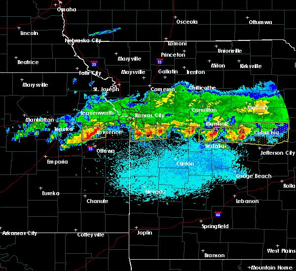 Radar Image for Severe Thunderstorms near Baldwin City, KS at 3/27/2020 1:01 AM CDT