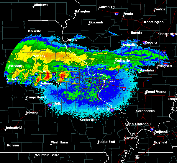 Radar Image for Severe Thunderstorms near Truxton, MO at 3/27/2020 1:56 AM CDT
