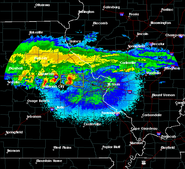 Radar Image for Severe Thunderstorms near Truxton, MO at 3/27/2020 2:12 AM CDT