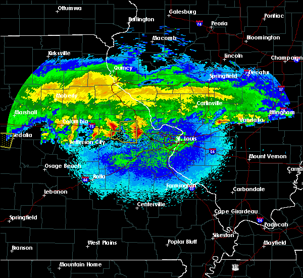 Radar Image for Severe Thunderstorms near Truxton, MO at 3/27/2020 2:32 AM CDT