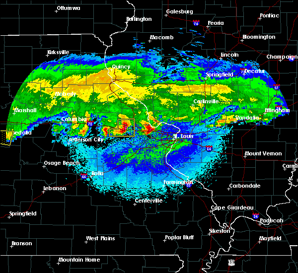 Radar Image for Severe Thunderstorms near Troy, MO at 3/27/2020 2:44 AM CDT