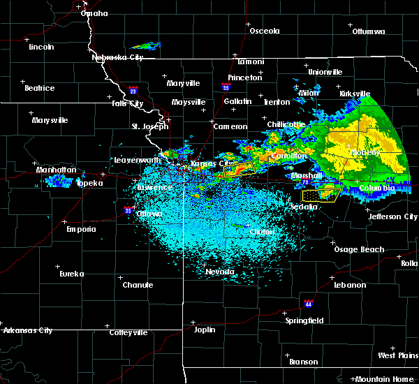 Radar Image for Severe Thunderstorms near Mayview, MO at 3/27/2020 3:24 AM CDT