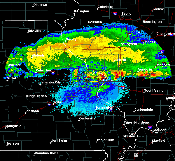 Radar Image for Severe Thunderstorms near Old Ripley, IL at 3/27/2020 3:34 AM CDT