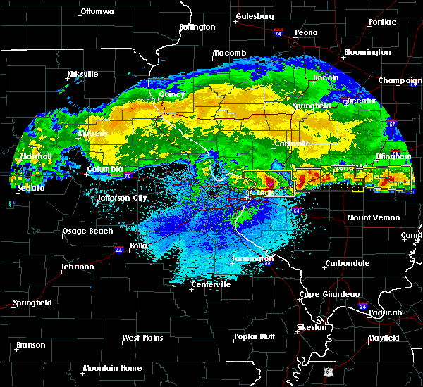 Radar Image for Severe Thunderstorms near Grantfork, IL at 3/27/2020 3:47 AM CDT