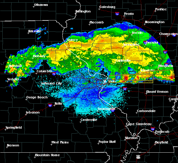 Radar Image for Severe Thunderstorms near Old Ripley, IL at 3/27/2020 4:03 AM CDT