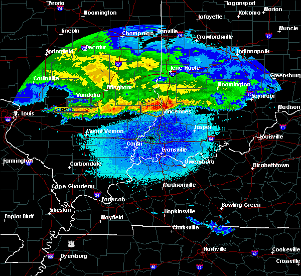 Radar Image for Severe Thunderstorms near Bruceville, IN at 3/27/2020 5:35 AM EDT