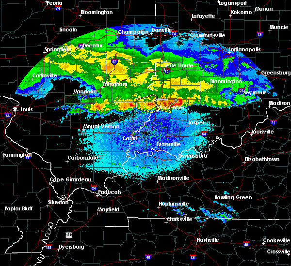 Radar Image for Severe Thunderstorms near Bruceville, IN at 3/27/2020 5:50 AM EDT