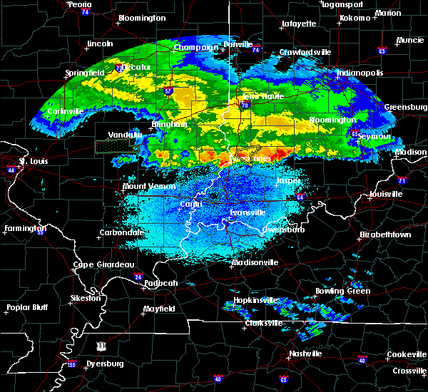 Radar Image for Severe Thunderstorms near Bruceville, IN at 3/27/2020 5:58 AM EDT